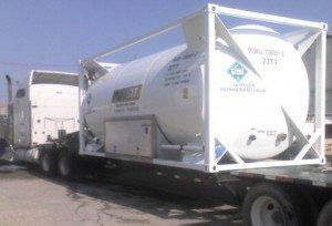 PURGIT ISO nitrogen tanker